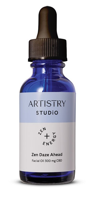 Amway Artistry Studio™ Zen Daze Ahead Facial Oil + 300 Mg Cbd