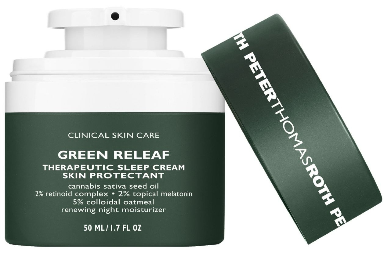 Peter Thomas Roth Green Releaf Therapeutic Sleep Cream Skin Protectant