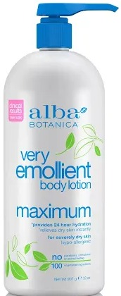 Alba Very Emollient Maximum Body Lotion