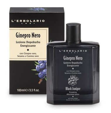 Energising Aftershave Lotion Black Juniper