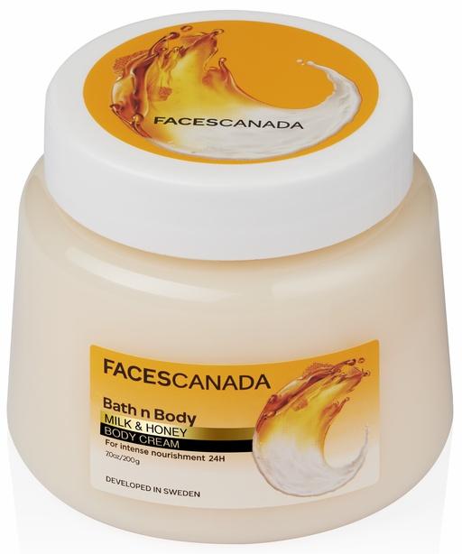 Faces Canada Bath N Body Milk & Honey Body Cream