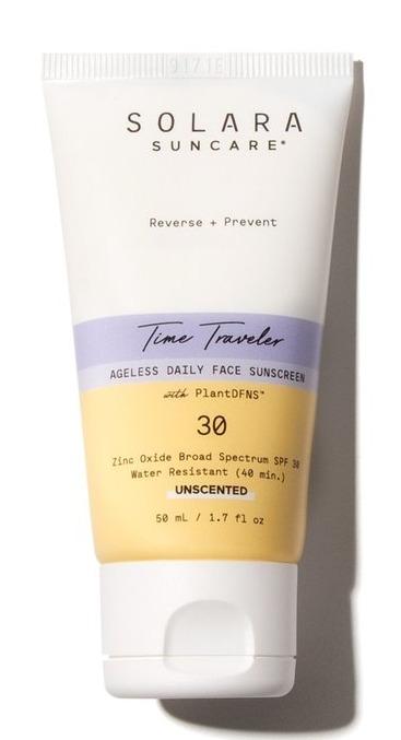 Solara Suncare Time Traveler Ageless Daily Face Sunscreen (Unscented)