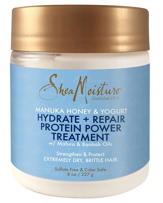 Shea Moisture Manuka Honey & Yogurt Hydrate & Repair Intensive Protein Treatment