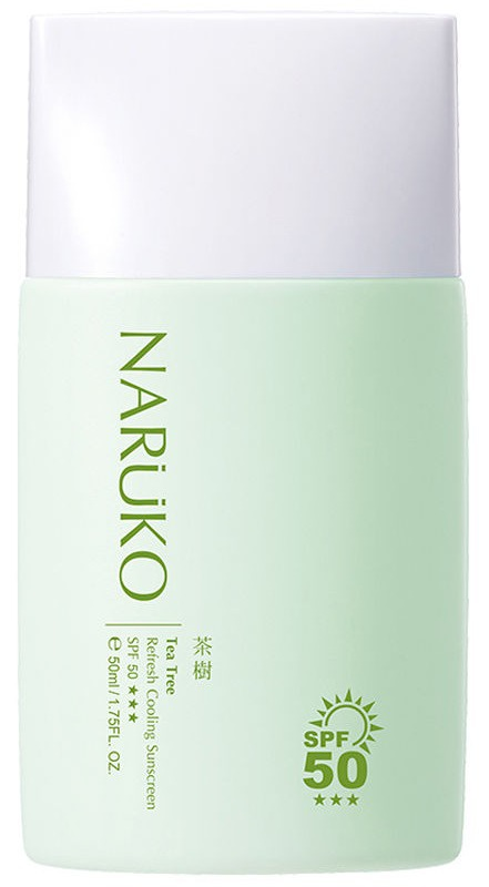 Naruko Tea Tree Refresh Cooling Suncreen SPF50 +++
