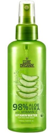 Luxe Organix 98% Aloe Vera Vitamin Water Mist For Face & Body