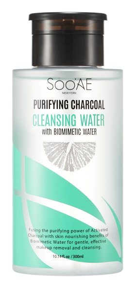 Soo'Ae Purifying Charcoal Cleansing Water With Biomimetic Water