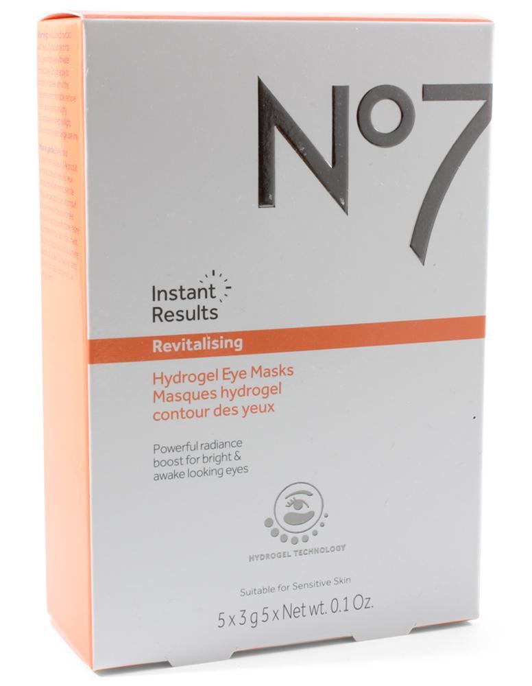 No7 Revitalizing Hydrogel Eye Masks