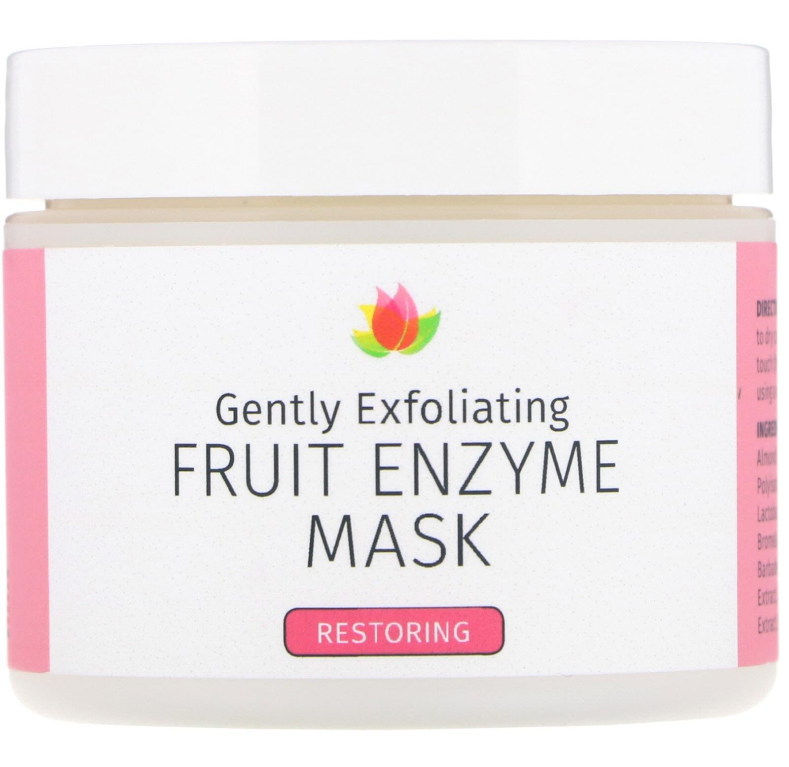 Reviva Labs Gently Exfoliating, Fruit Enzyme Mask