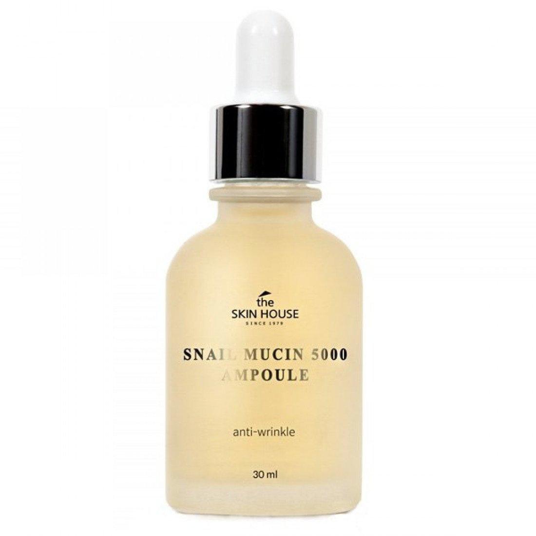 The Skin House Snail Mucin 5000 Ampoule