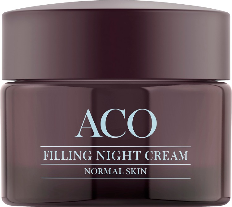 ACO Face Anti Age 40+ Lift & Fill Night Cream Normal Skin