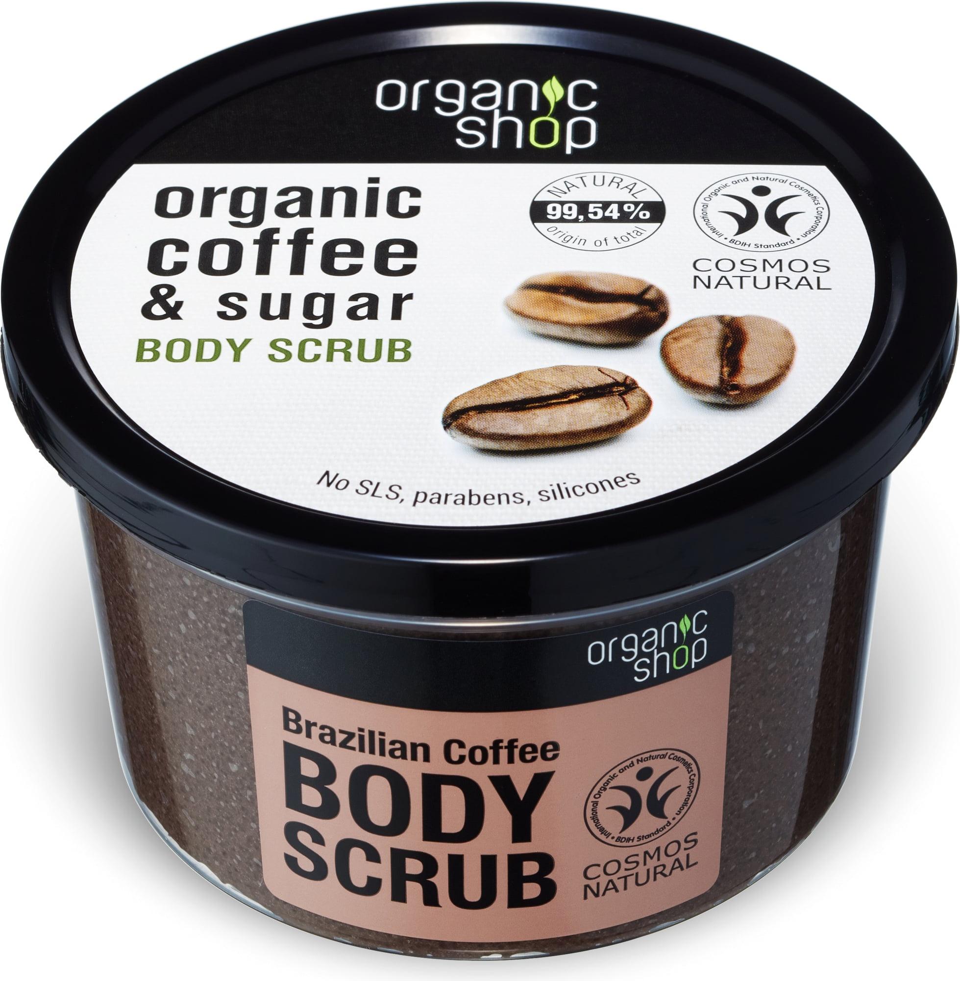 Organic Shop Coffee & Sugar Body Scrub
