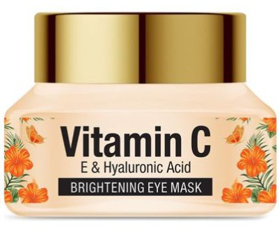 St. Botanica Vitamin C, E & Hyaluronic Acid Brightening Eye Mask