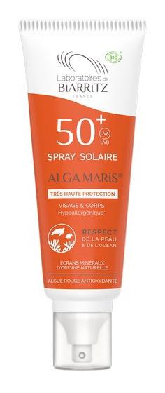 Laboratoires de Biarritz Alga Maris 50+ Spray Solaire