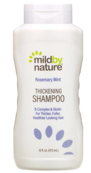 Mild By Nature Thickening Shampoo, B-Complex & Biotin, Rosemary Mint