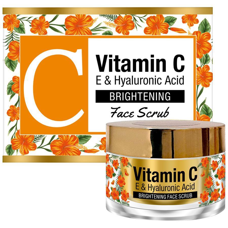 StBotanica Vitamin C, E Hyaluronic Face Scrub