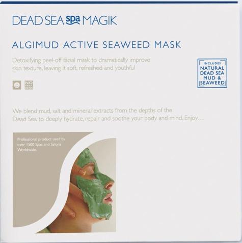 Dead Sea Spa Magik Algimud Active Seaweed Mask