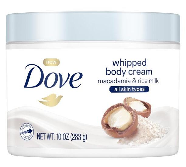 Dove Whipped Body Cream Macadamia & Rice Milk