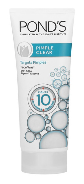 Pond S Pimple Clear Face Wash Ingredients Explained