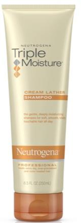 Neutrogena Triple Moisture Cream Lather Shampoo