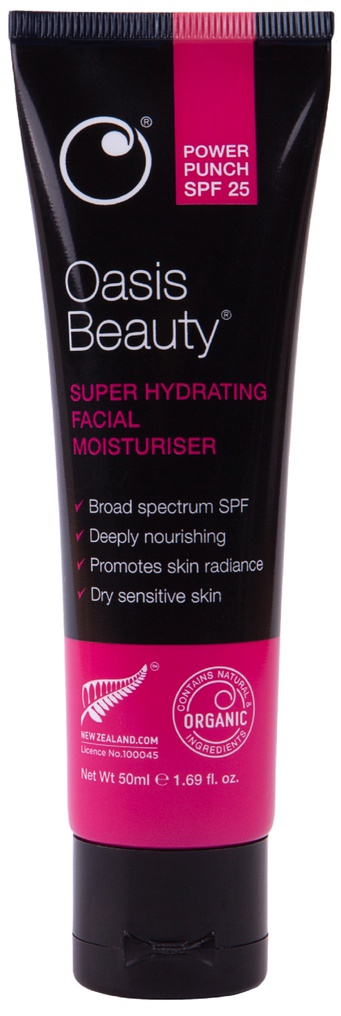 Oasis Beauty Power Punch Super Hydrating Facial Moisturiser Spf 25 Pa+++