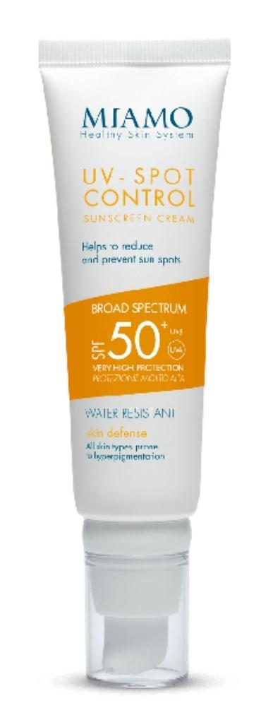 Miamo UV-Spot Control Sunscreen Cream Spf 50+