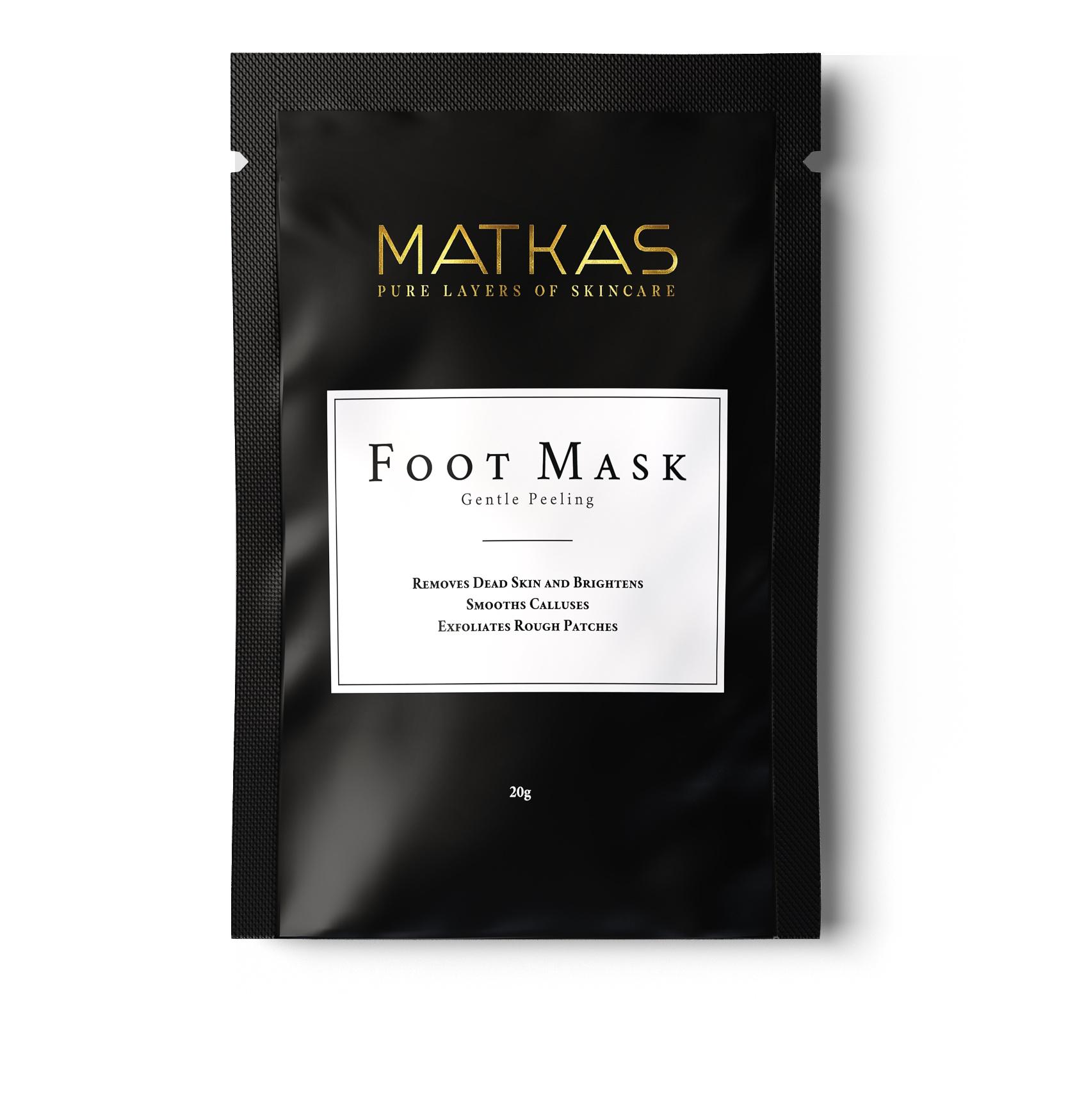 MATKAS Foot Mask Gentle Peeling