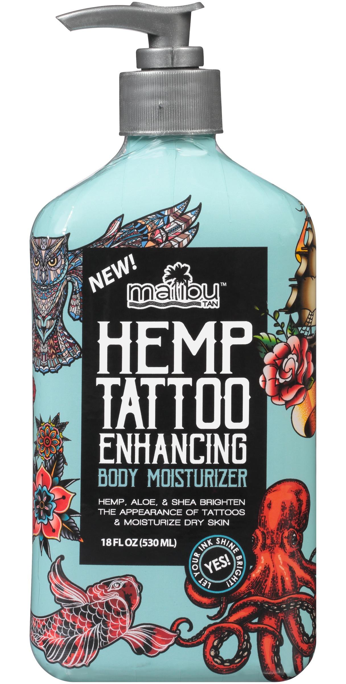 Malibu Hemp Tattoo Enhancing Body Moisturizer