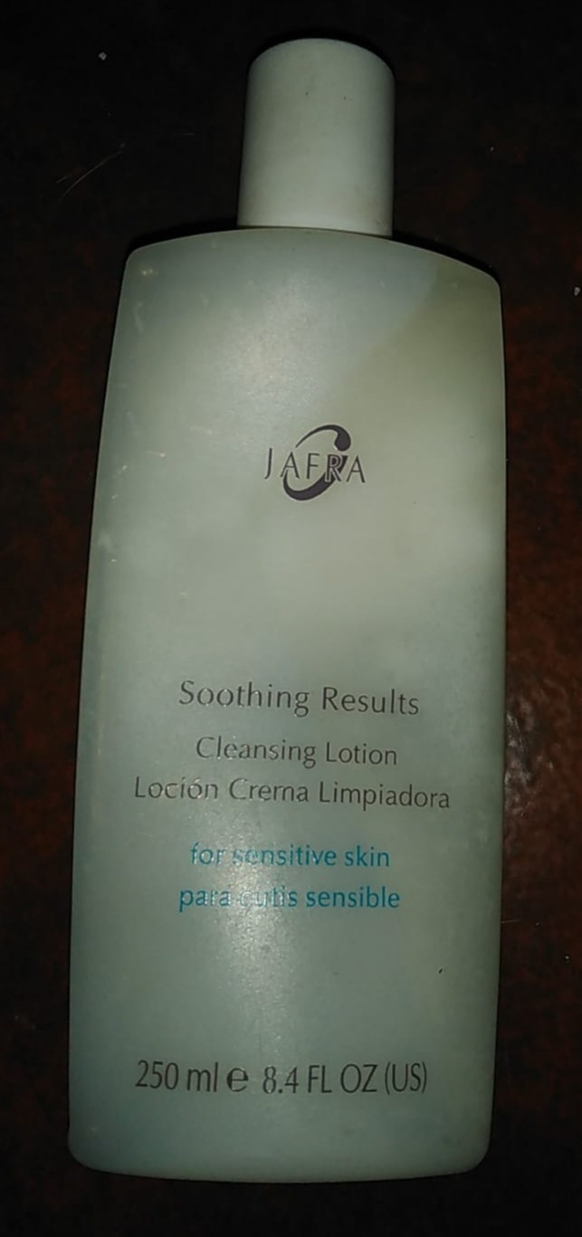 Jafra Soothing Results Cleansing Lotion