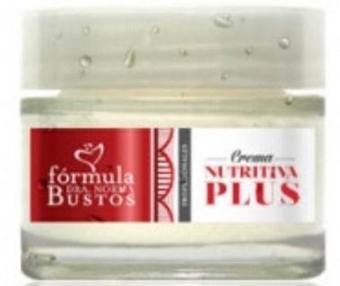 Formula Dra Norma Bustos Crema Nutritiva Plus