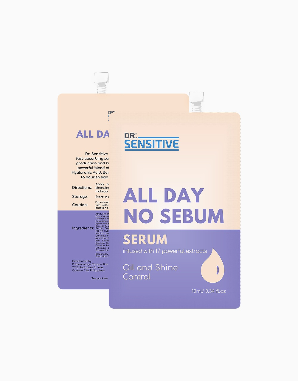 Dr. Sensitive All Day No Sebum Serum