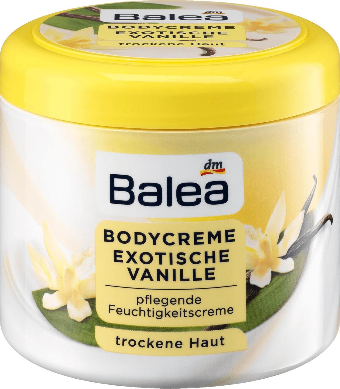 Balea Bodycreme Exotische Vanille