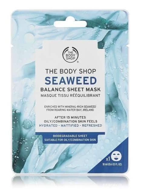Body Shop Seaweed Balance Sheet Mask