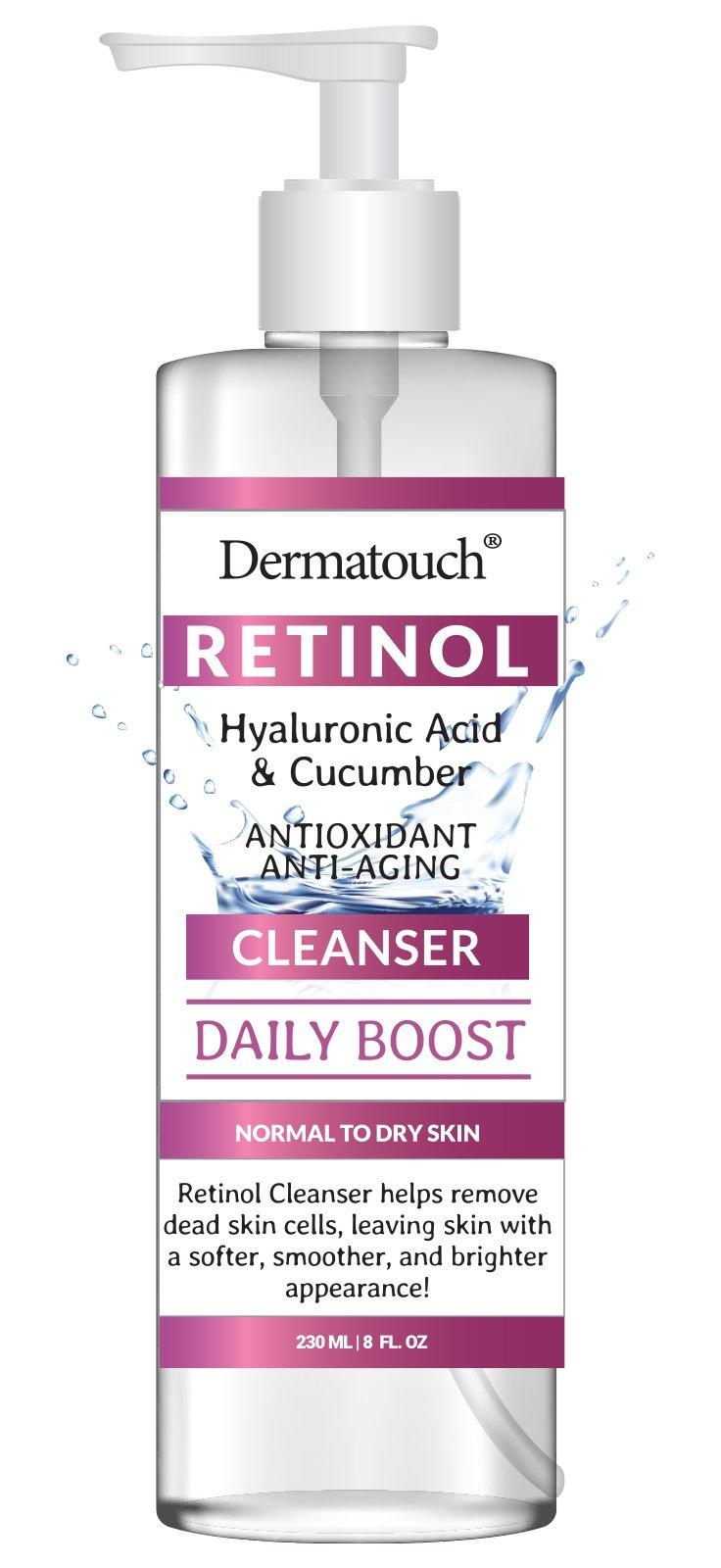 homespacollection Dermatouch Retinol Hyaluronic Acid Cucumber Cleanser