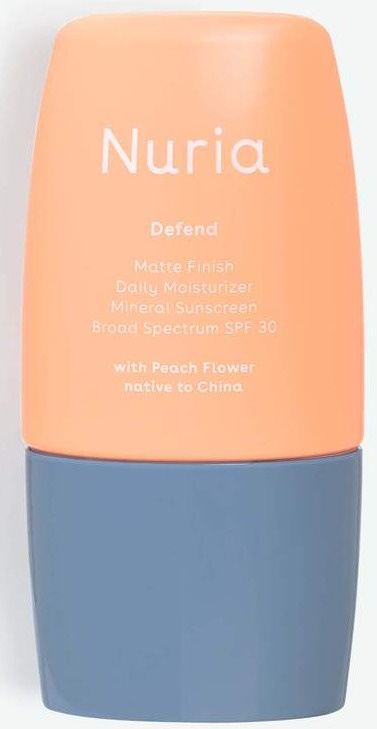 Nuria Defend Matte Finish Daily Moisturizer With All-mineral SPF 30