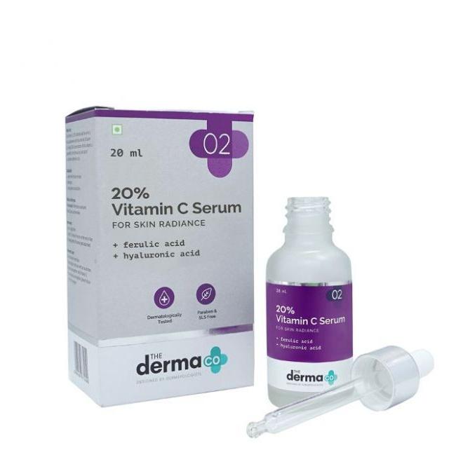 The derma CO 20% Vitamin C Serum