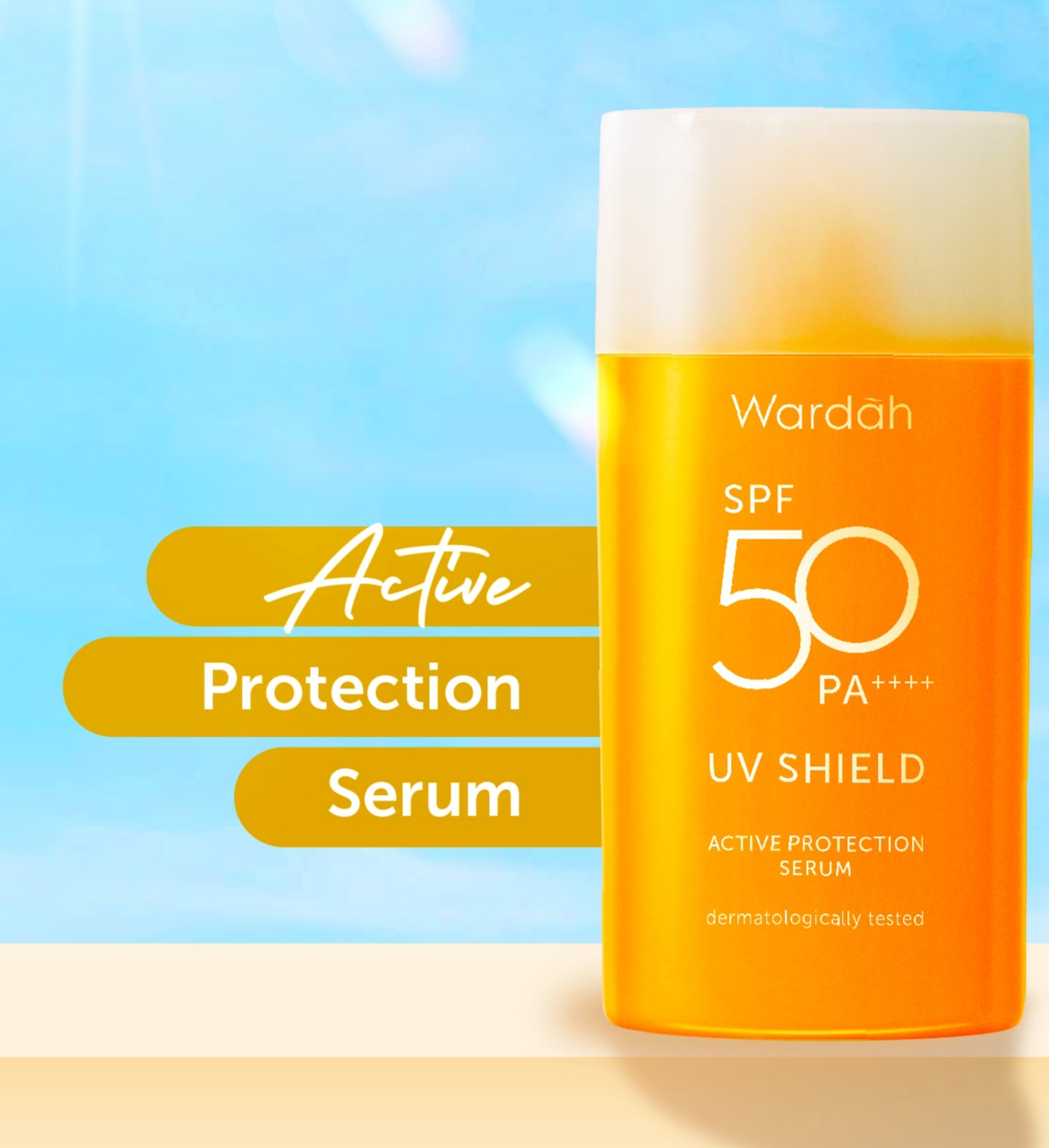 Wardah UV Shield Active Protection Serum SPF 50 PA++++