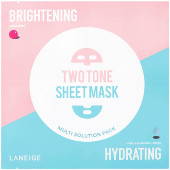 LANEIGE Two-Tone Sheet Brightening & Hydrating
