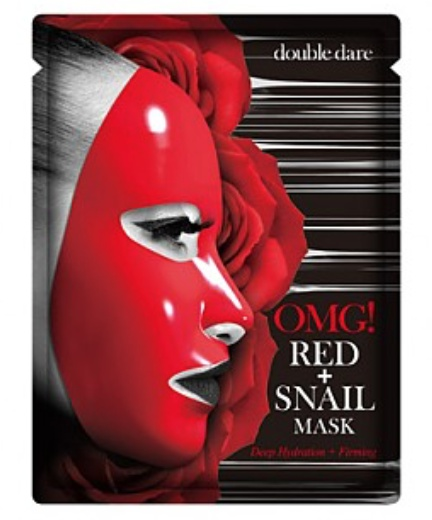 Double Dare Omg! Red+Snail Mask