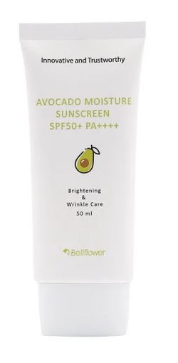 Bellflower Avocado Moisture Sunscreen #SPF50+ Pa++++