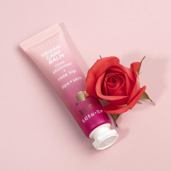 Pacifica Vegan Care Balm - Rose Shimmer