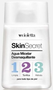 Violetta Skin Secret Agua Micelar