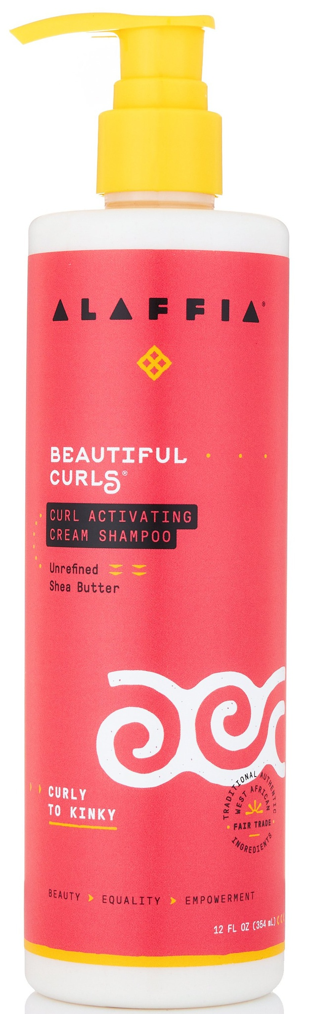 Alaffia Curl Activating Cream Shampoo