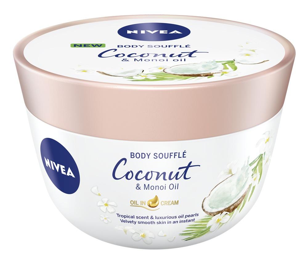 Nivea Body Soufflé Coconut & Monoi Oil