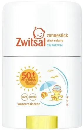Zwitsal Sun 0% Parfum SPF50+ Zonnestick