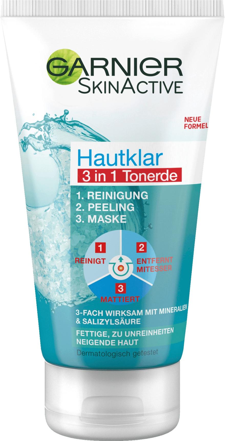 Garnier Skin Active Hautklar 3 In 1 Tonerde