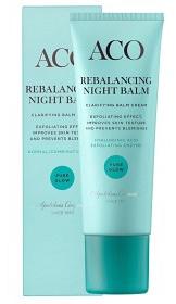 ACO Pure Glow Rebalancing Night Balm