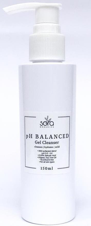 Sora Organics Ph Balanced Gel Cleanser