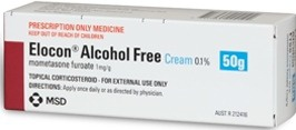 MSD Elocon Alcohol Free Cream
