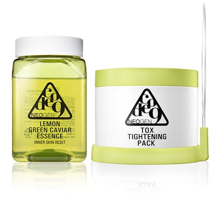 Neogen Code9  Lemon Green Caviar Essence & Tox Tightening Pack Kit