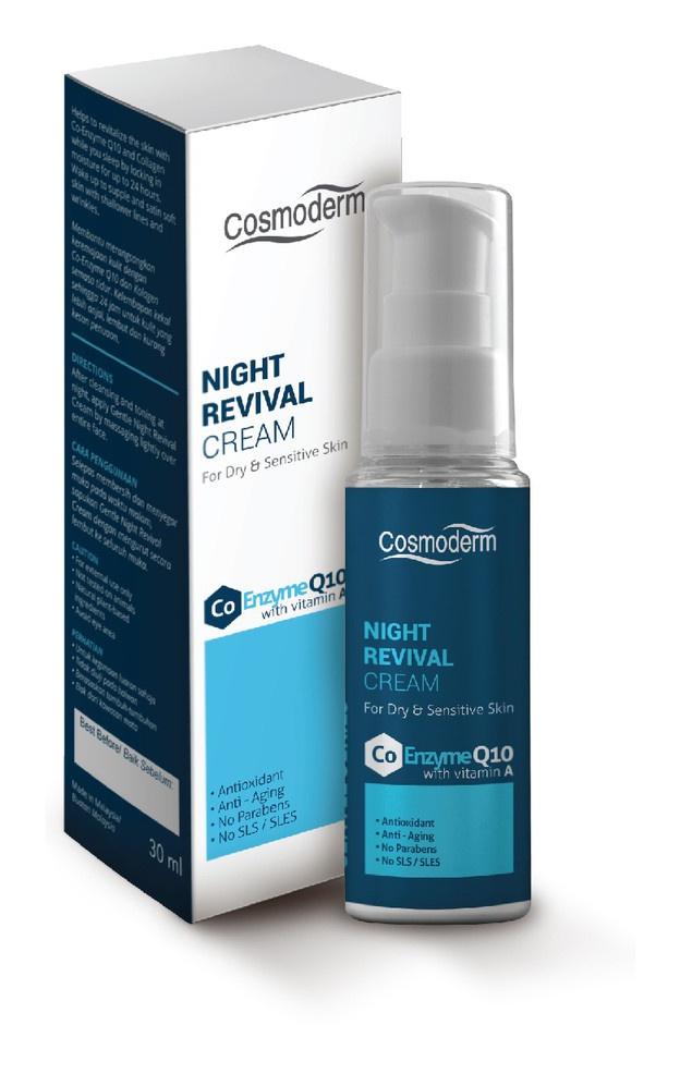 cosmoderm Night Revival Cream